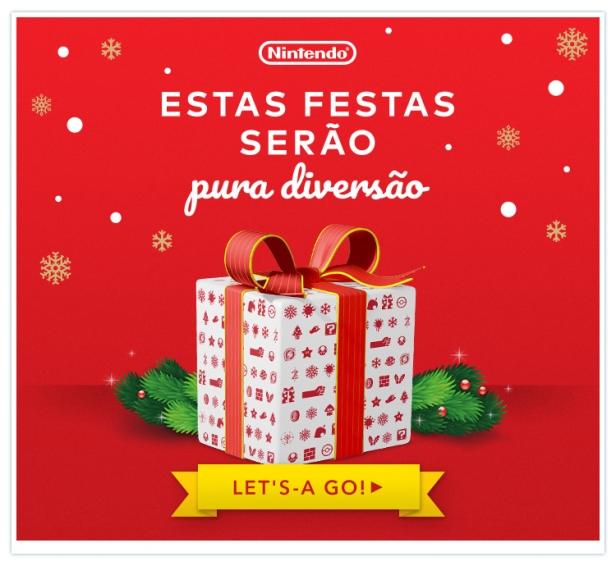 Feliz Natal Nintendo 2017